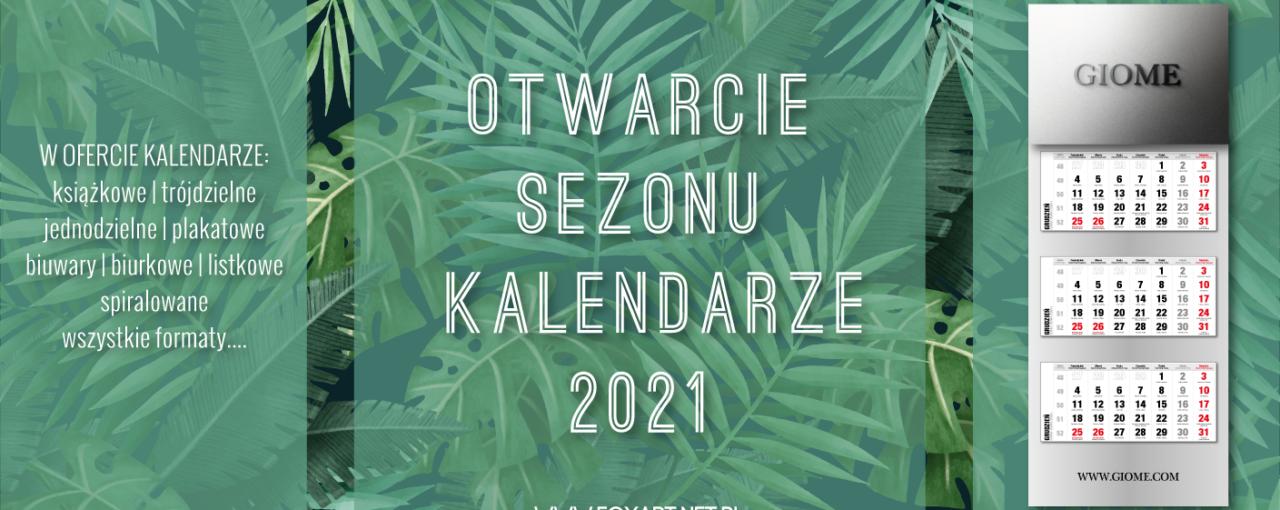Kalendarze 2021 z indywidualnym projektem graficznym