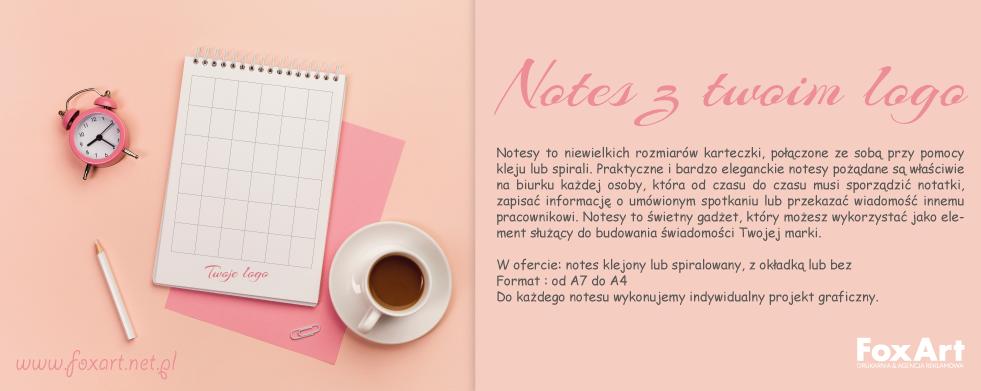 Notes z twoim logo